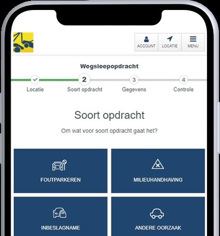 Bergnet inbeslagname-app