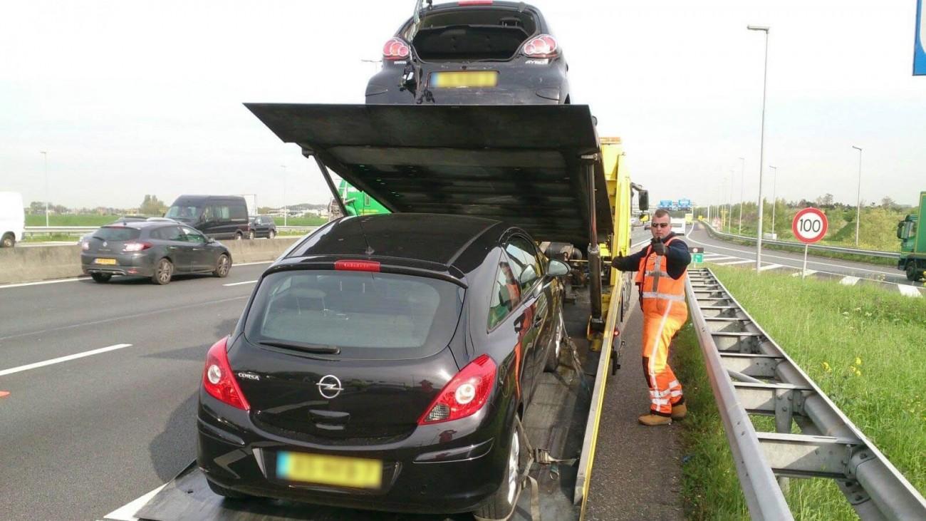 Personenautoberging Door Bergnet Autoberging