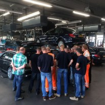 Workshop voertuigkennis Mercedes-Benz dealer Stern Auto