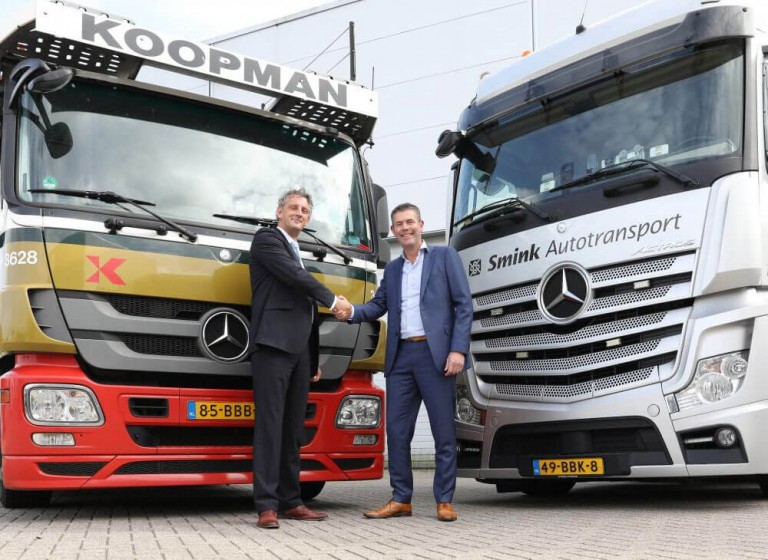 Bergnet verkoopt Smink Transport aan Koopman Logistics Group